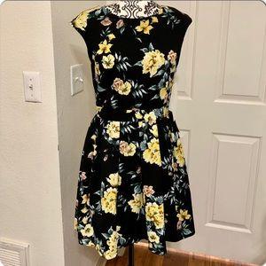 Love, Nickie Lew Cap Sleeves Dress